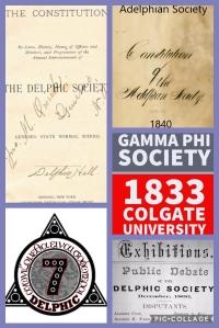delphic fraternity, delphic society